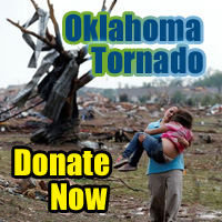 DONATE TO RED CROSS FOR OKLAHOMA